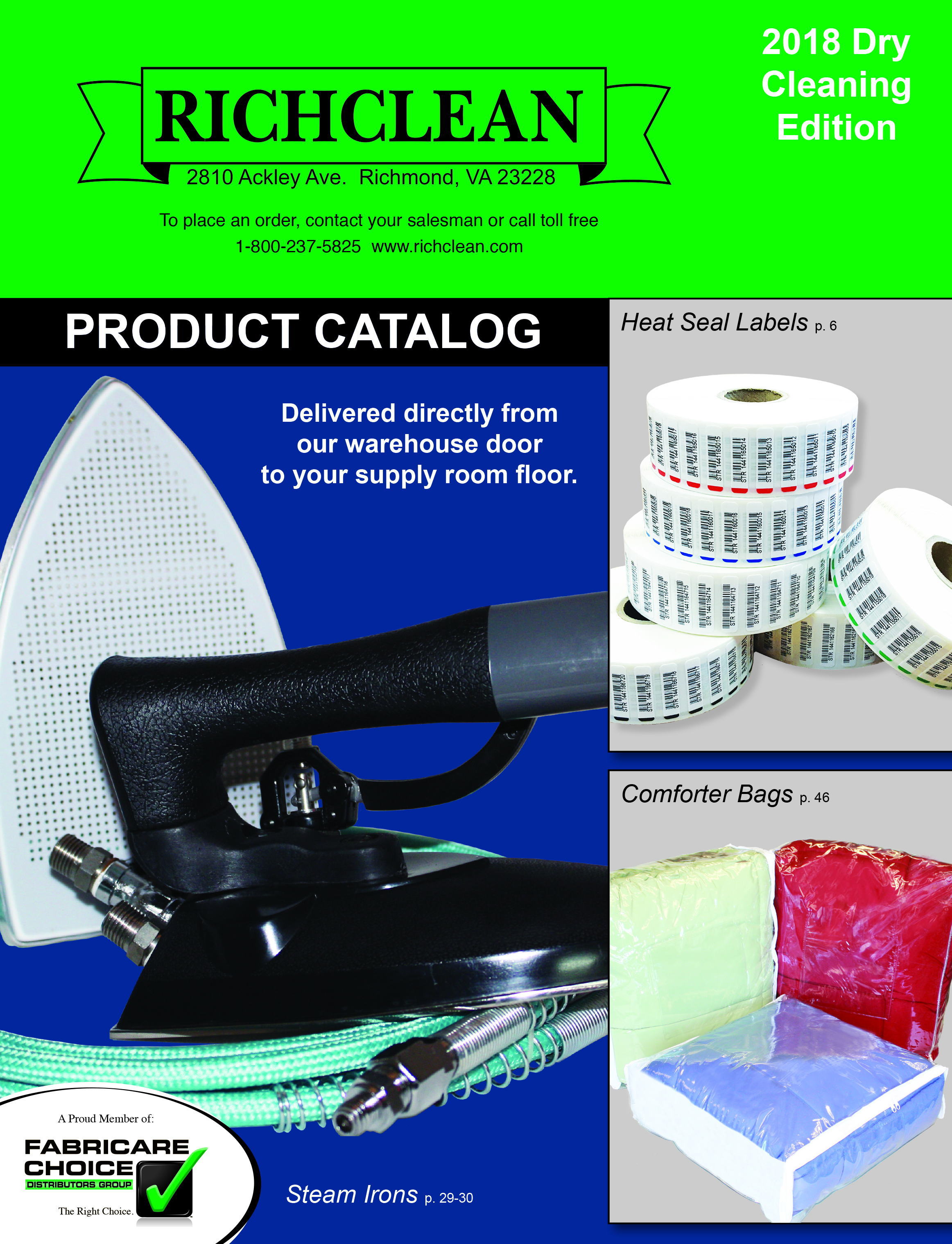 Richclean On-Line Catalogue